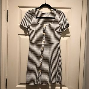 Lush Dresses - Lush Striped sundress